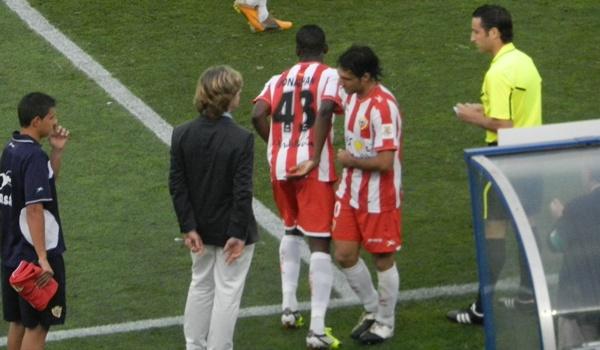 15 años como jugador de la UD Almería atesora Ortiz Bernal, que ya se marcha porque quiere seguir jugando y el club no le renueva como jugador