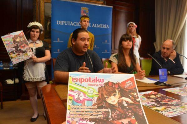 Presentación de ExpOtaku en Almería