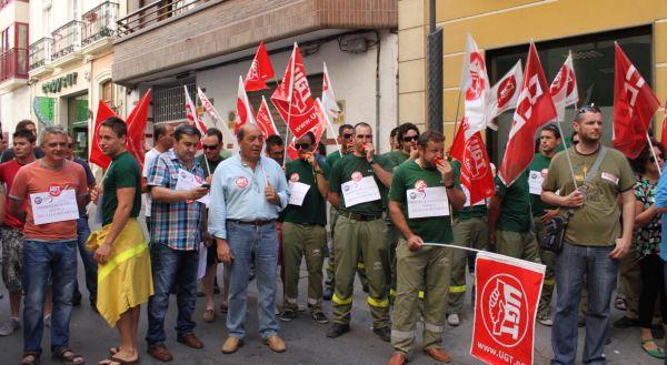 Dieciocho buses de Almería acuden a la marcha del 15-S en Madrid contra los recortes del PP