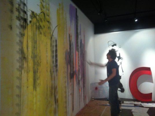 Santiago Picatoste en AM Gallery de Roquetas