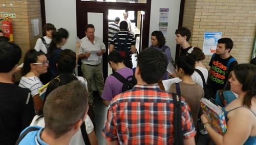 En la sede de la UAL ha habido mayor número de alumnos presentados a la Selectividad