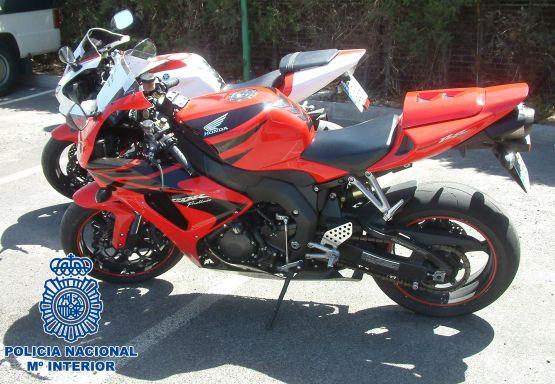 algunas motos intervenidas
