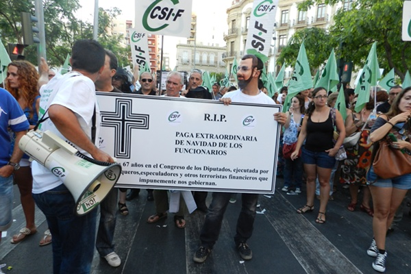 La Central Sindical Independiente y de Funcionarios ya inició la vía judicial contra la Junta de Andalucía