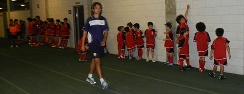 Responsable del II Campus de la UD Almería, Ibán Andrés entra directamente en pretemporada