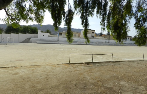 Ibán Andrés es natural de Huércal de Almería y se ha criado junto al campo de fútbol de la localidad