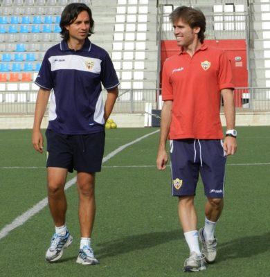 Ibán Andrés habla de equipo de trabajo en torno a la figura de Javi Gracia en la UD Almería