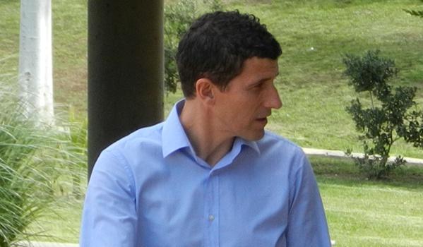 Javi Gracia ha llegado a Almería con el pensamiento puesto en el ascenso a la Liga BBVA