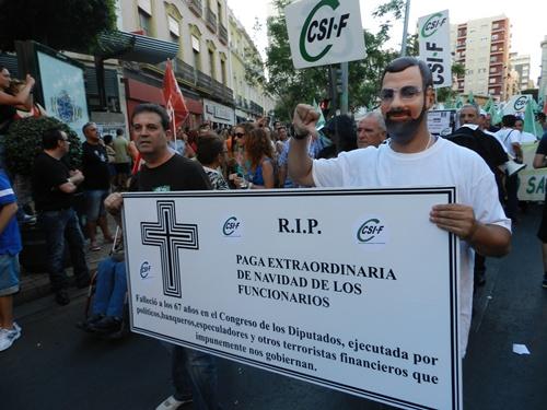 En Almería, las alusiones a Rajoy y al PP fueron muy directas
