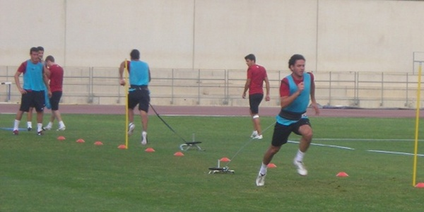 El Almería ya hace la cuenta atrás para el comienzo de la Liga Adelante ante el FC Barcelona B