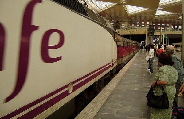 Huelga trenes