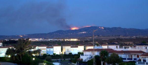 Incendio en Bédar 12