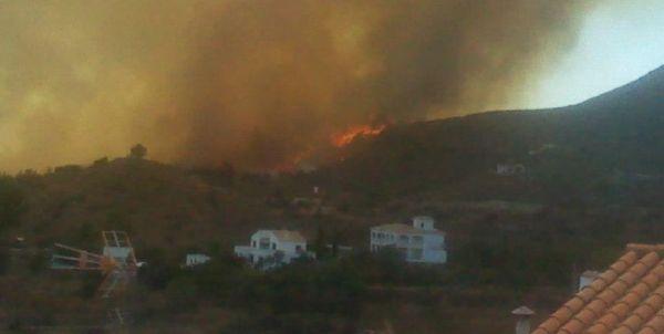 Incendio en Bédar 4