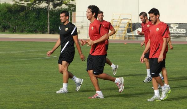 Joselu se formó en las categorías inferiores del Barcelona y ahora está en la UD Almería