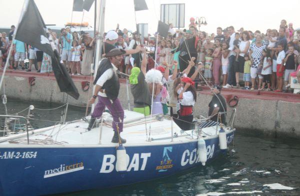 Arranca la 'Semana Pirata de Almerimar': ¡Al abordaje!