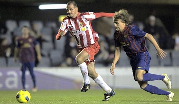 El partido del Barcelona B - UD Almería será el inaugural de la Liga Adelante
