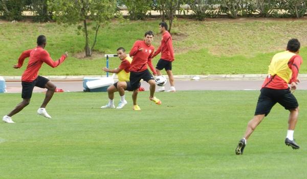 El centrocampista madrileño no atraviesa un buen momento en el Almería