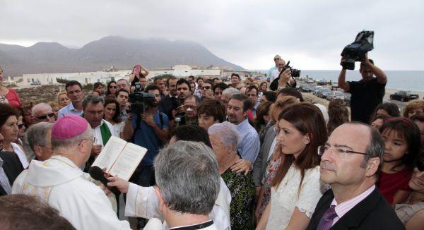 consagración iglesia Las Salinas