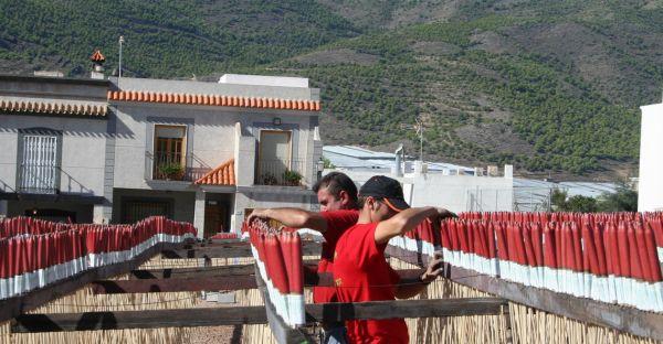 Dalías cohetes