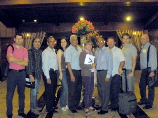 Delegación de empresas en Sto.Domingo