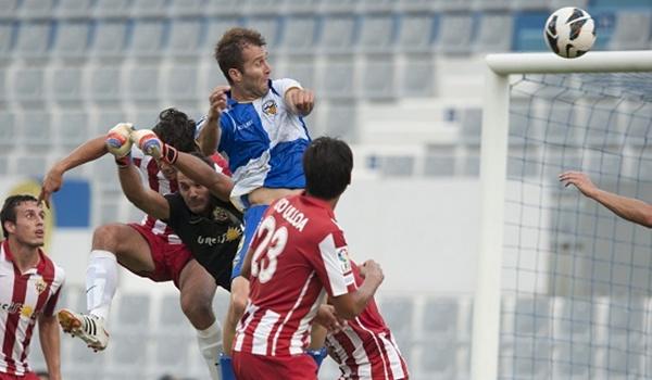 La UD Almería se ha dejado el coliderato de la Liga Adelante en Sabadell