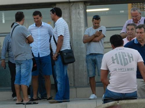 El técnico del Almería sigue de cerca los valores del filial