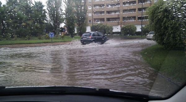 LLuvia Almería