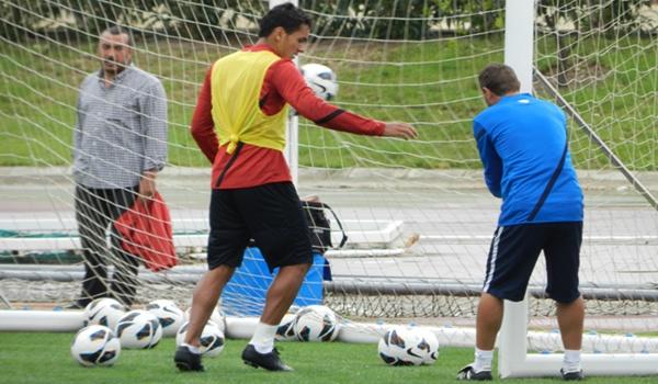 El central uruguayo ha salido de una lesión de tobillo y ya puede contar para Javi Gracia