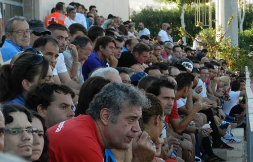 El Almería B jugó contra el Betis B en el Anexo del Estadio de los Juegos Mediterráneos