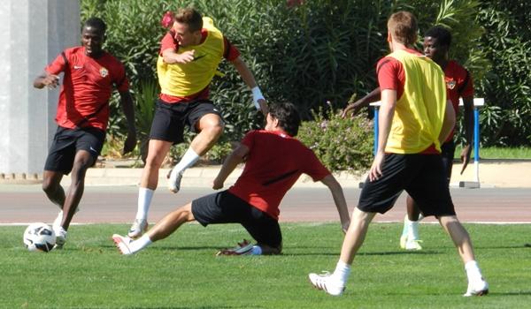 El extremo de la UD Almería no valora los números actuales de su equipo en la Liga Adelante