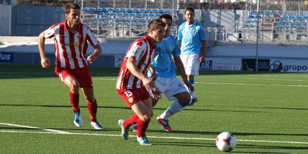 El Almería B perdió a la octava ante el Lucena en el Grupo IV de Segunda B