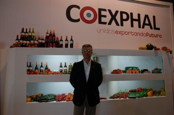 Juan Colomina, gerente Coexphal
