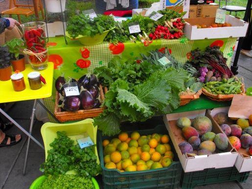 Fiesta de productos ecológicos en el Puerto de Almería para celebrar el Día Verde
