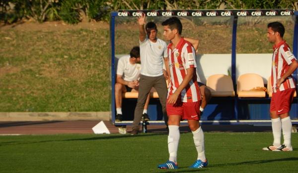 El entrenador del Almería B quiere darle un toque más contundente a su equipo en Lucena
