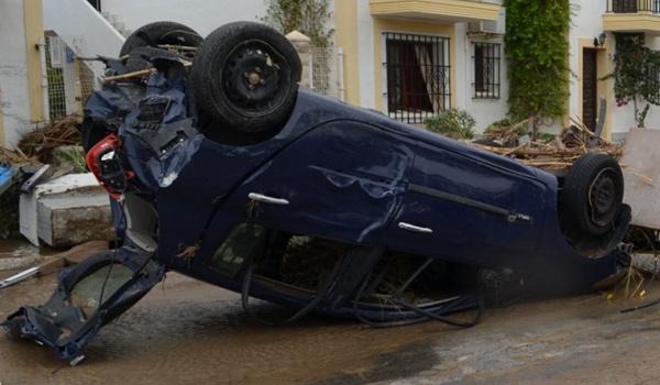 Los daños que la gota fría ha provocado en el Levante de Almería son cuantiosos