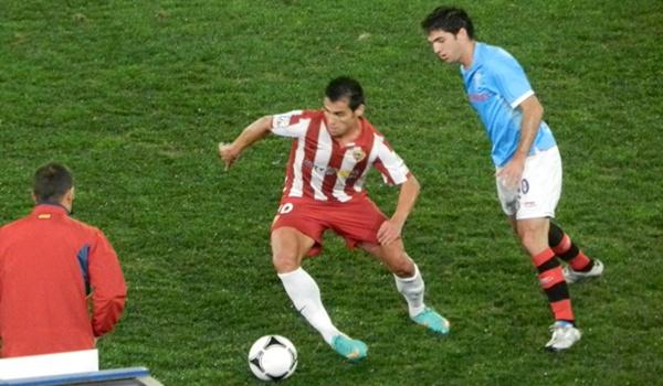 El Almería ha ganado al Celta de Vigo en Copa del Rey