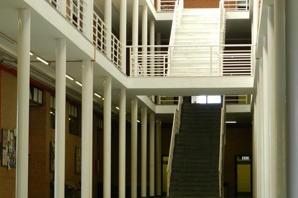 Los aularios del campus de la UAL en La Cañada (Almería) eran su centro de operaciones
