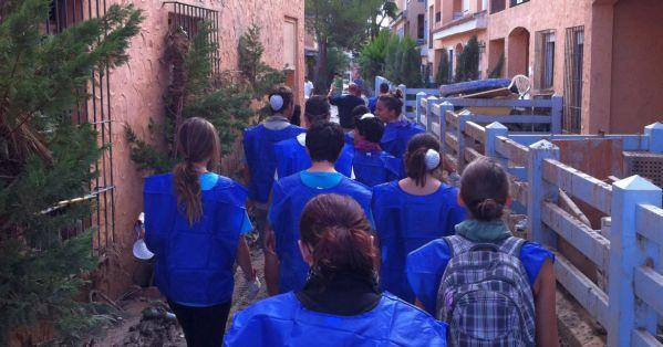 voluntarios en Vera