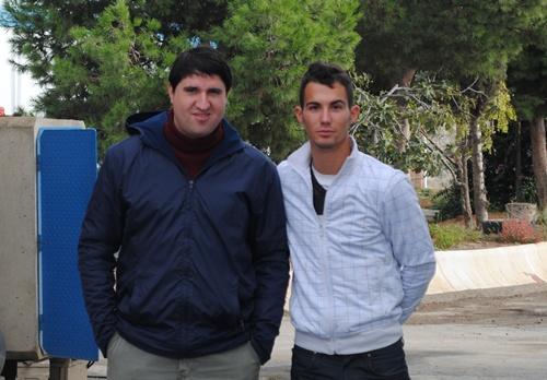 La directiva, los jugadores y los familiares del Polideportivo Almería se unen más todavía
