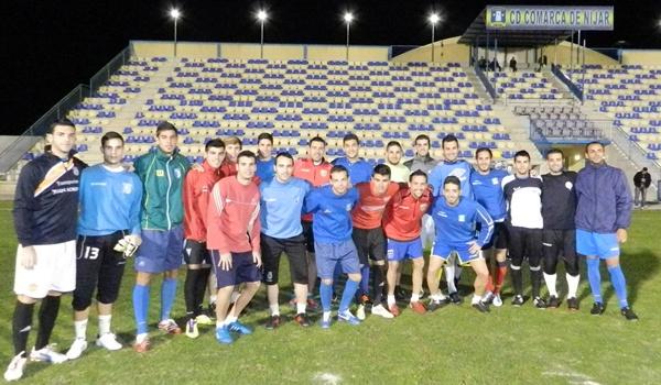 Nunca en la historia se había hecho un combinado de futbolistas de Almería