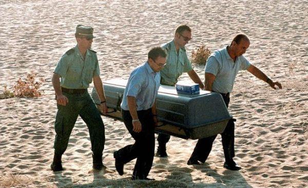 Cadáver playa
