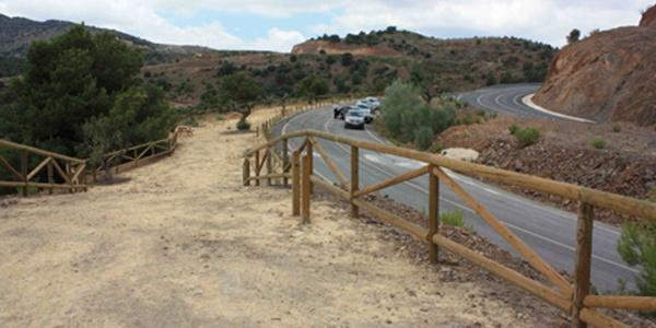 Accidente en la carretera A-349 de Almería entre Tabernas y Olula del Río a la altura de Macael