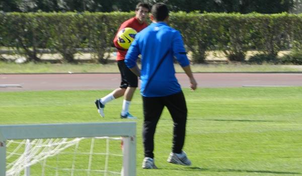 El lateral del Almería no jugó en su Santader natal y podría regresar ante el Lugo