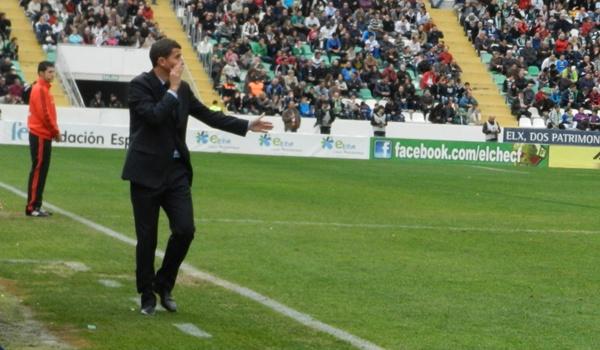 El míster del Almería reconoce un mal partido ante el Alcorcón para despedir el año de Liga Adelante