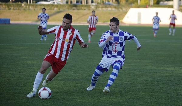 El Almería B no ha podido pasar del empate ante el conjunto de Cáceres en Segunda División B