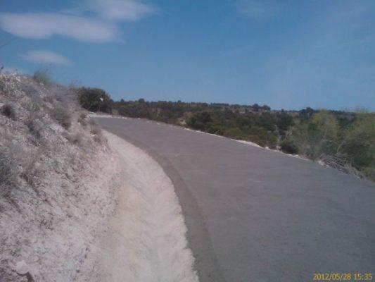Camino Fuente de la Puerca- loma del Aguila