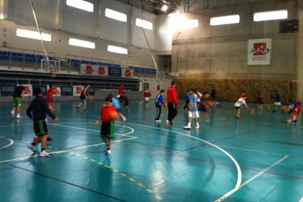 La cantera de basket de Almería tiene cita hasta antes de Reyes Magos