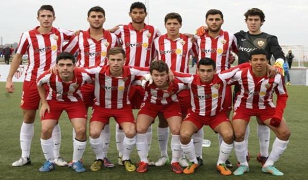 La cantera de este equipo de Liga Adelante está aportando muchos internacionales a España