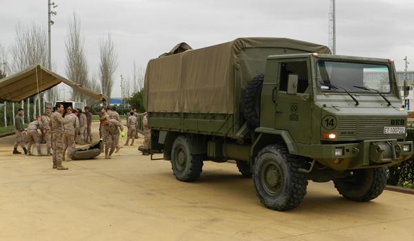 Medio Maratón camión de la Legión