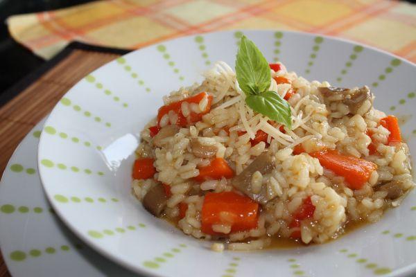 Risotto de setas y verduras al curry almeria 360 - Rissotto de setas ...