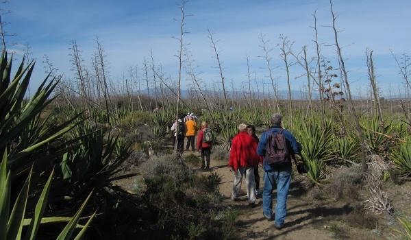 Senderismo por la Parque Natural de la provincia de Almería